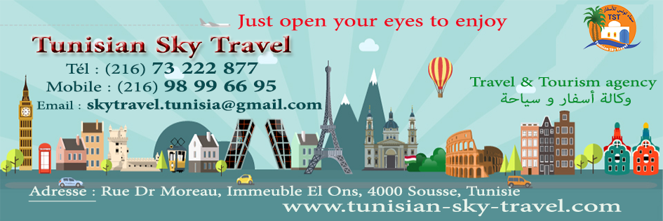 Travel Agency in Tunisia